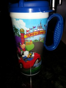 Disney World Refillable Mugs...my favorite souvenirs!