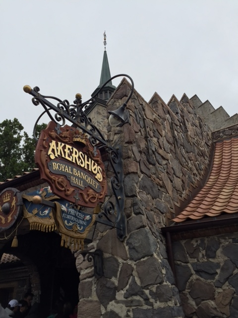 Breakfast Fit For a Princess- A Review of Akershus Royal Banquet Hall