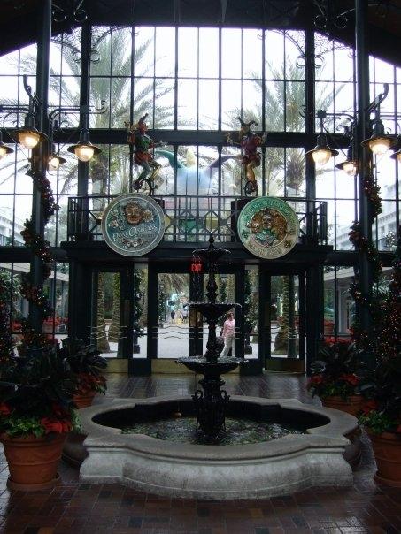 Lobby of Port Orleans French Quarter