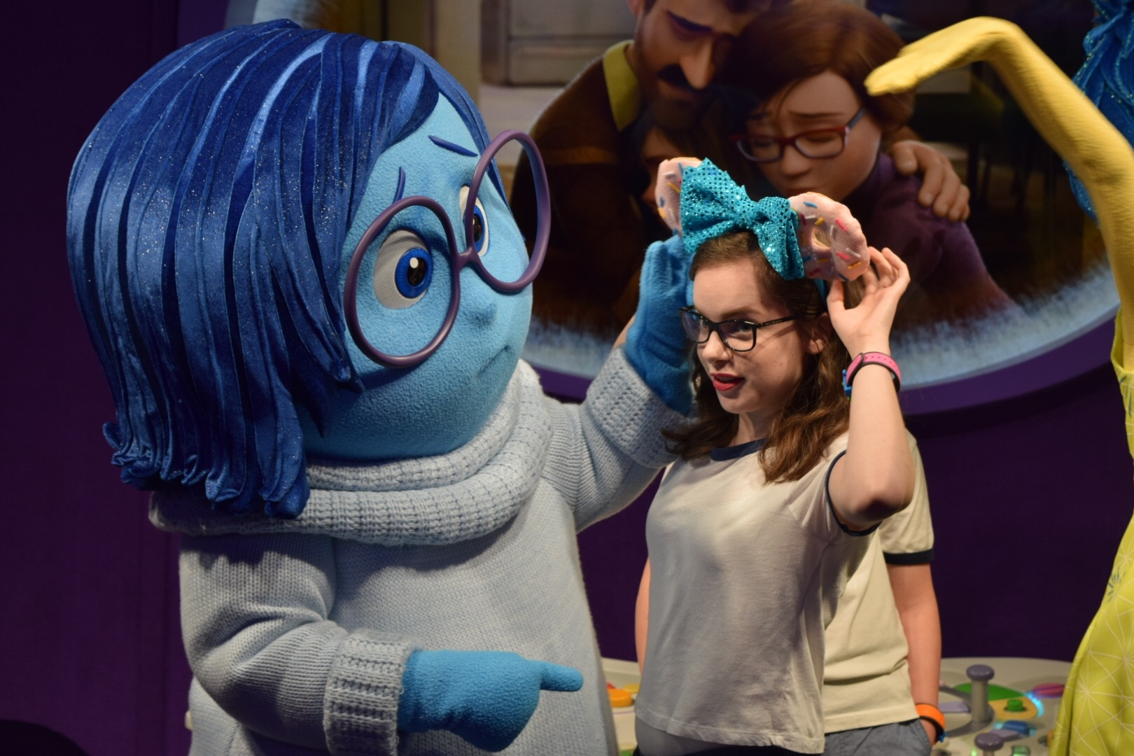 Meet Joy And Sadness From Inside Out Tips From The Disney Divas