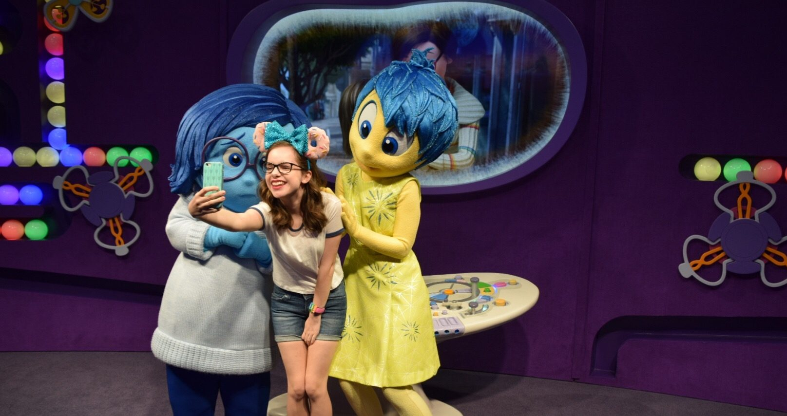 Meet Joy and Sadness from Inside Out!