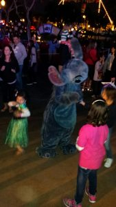 Dancing with Stitch!