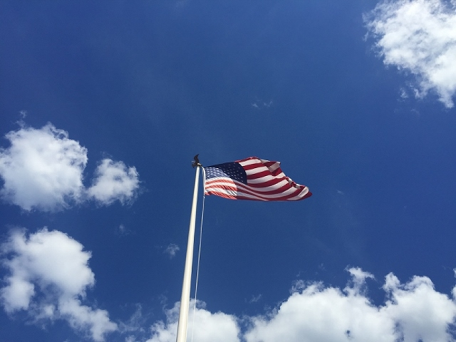 Flag Retreat at Magic Kingdom