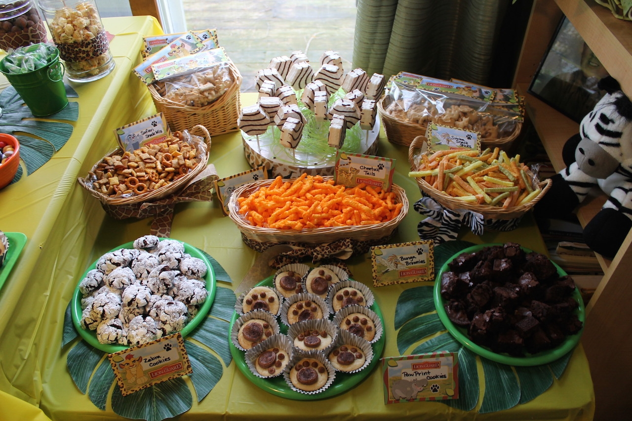 How to Throw an Un-Bunga-Lievable Lion Guard Birthday Bash ...