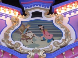 Prince Charming Regal Carrousel Panel