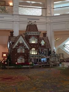 WDW Christmas Grand Floridian Gingerbread