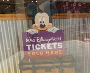 Purchase Disney World tickets at the Character Warehouse.