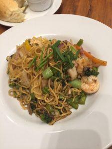 Kona Pan-Asian Noodles with Shrimp
