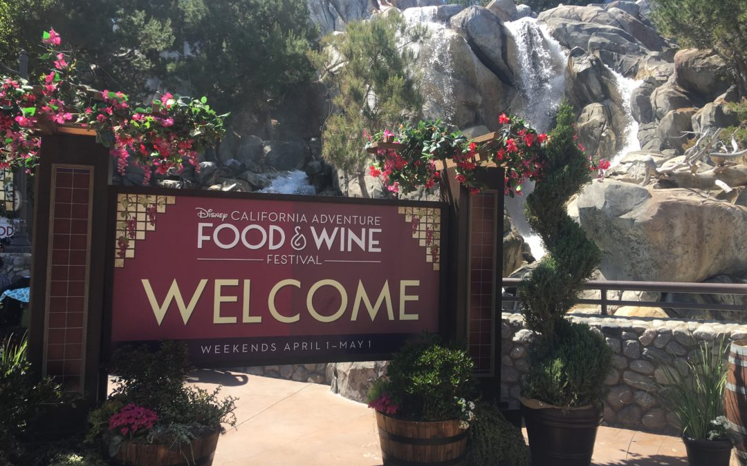 California Adventure Takes On Their Very Own Food and Wine Festival