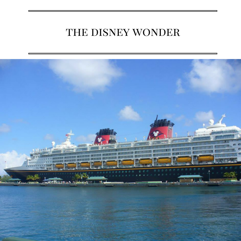 Tips for traveling on the Disney Wonder!