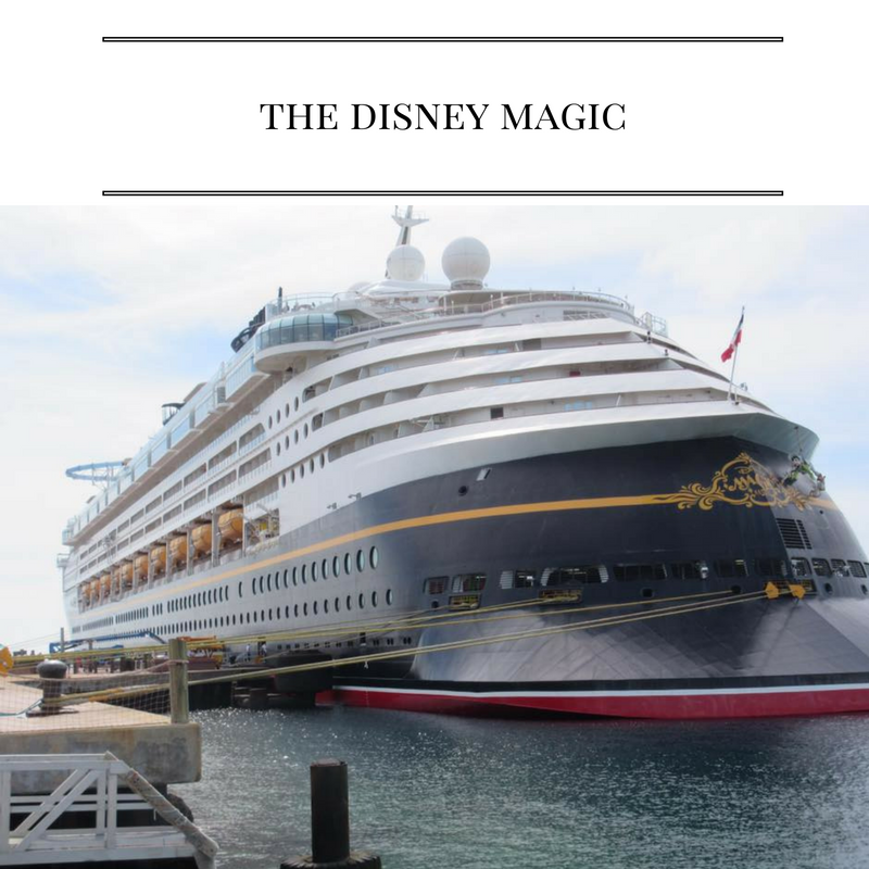 Great tips for traveling on the Disney Magic!
