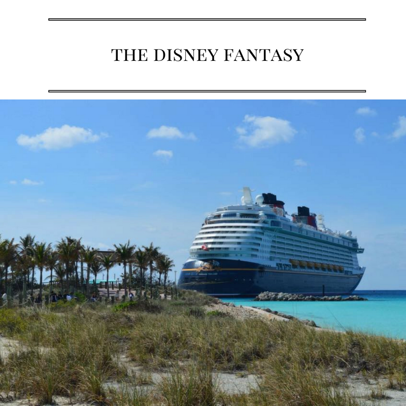 Great tips for traveling on the Disney Fantasy