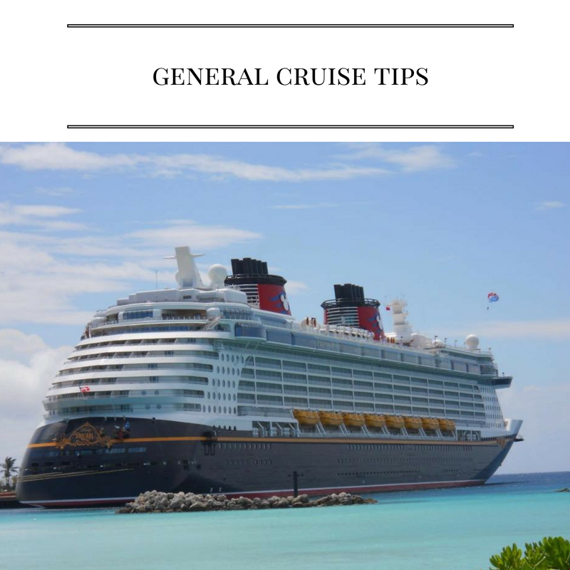 Great Tips and Information for your Disney Cruise Line!