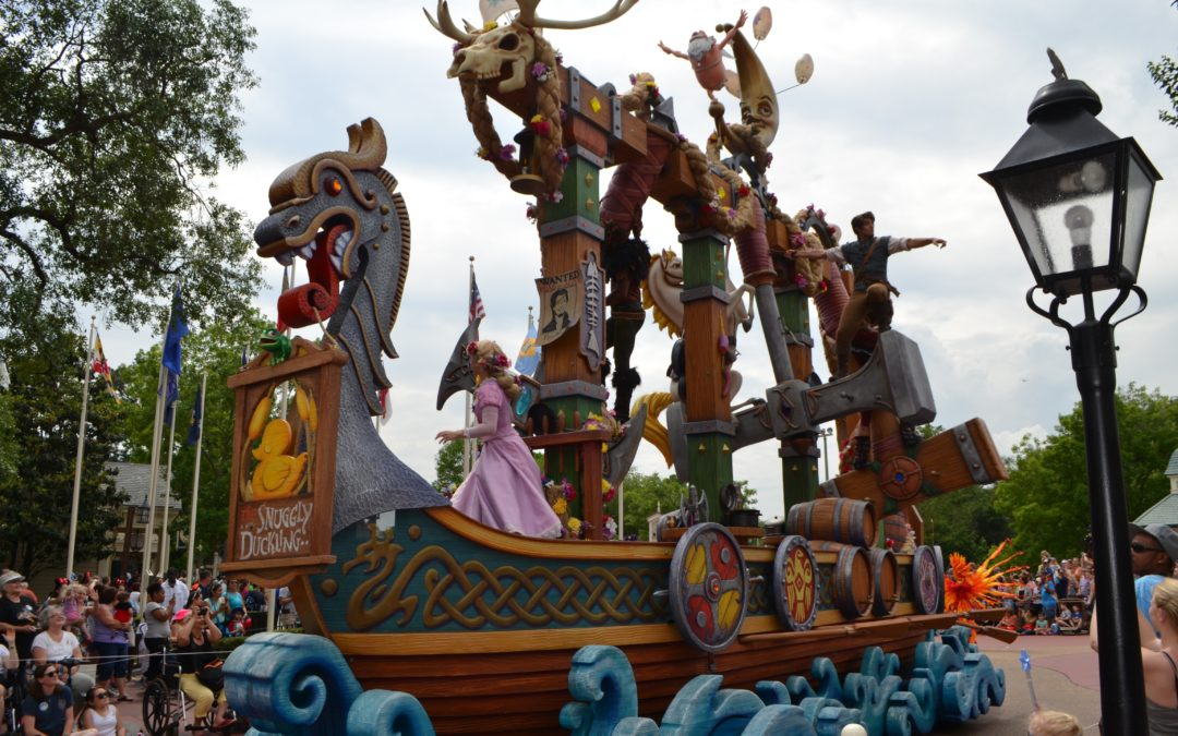Festival of Fantasy Parade at the Magic Kingdom