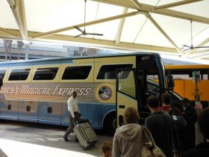 Magical Express, your complimentary ride between Orlando International Airport and Disney World Resorts.