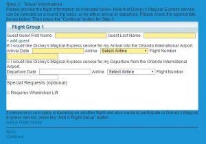 Disney's Online Booking Tool-2