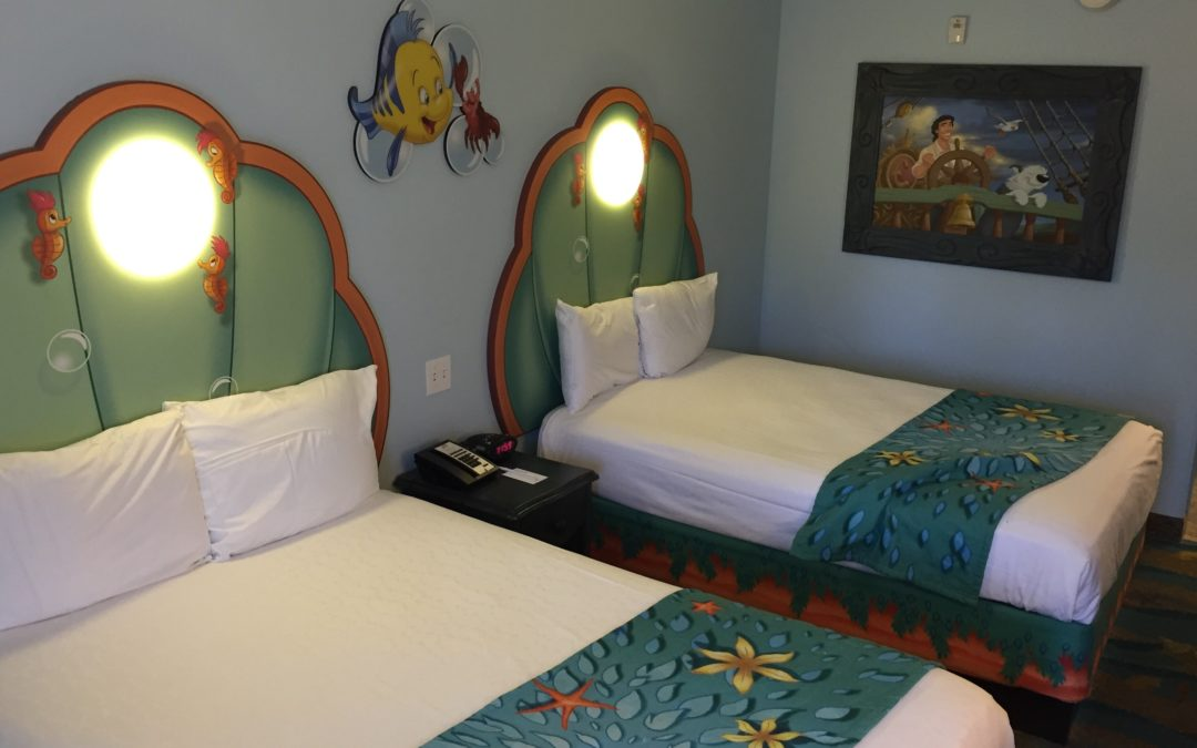 My Little Mermaid Room Review