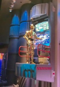 C3PO at Star Tours at Disney's Hollywood Studios