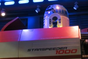 R2D2 at Star Tours at disney's Hollywood Studios