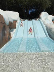 Blizzard Beach, water slide