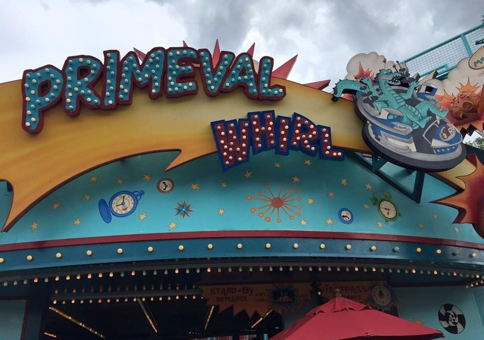 My First (and Quite Possibly My Last) Spin on Primeval Whirl