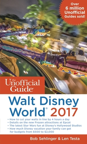 The Unofficial Guide to Walt Disney World 2017 Book Review & Giveaway