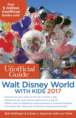 The Unofficial Guide to Walt Disney World With Kids 2017 Review & Giveaway