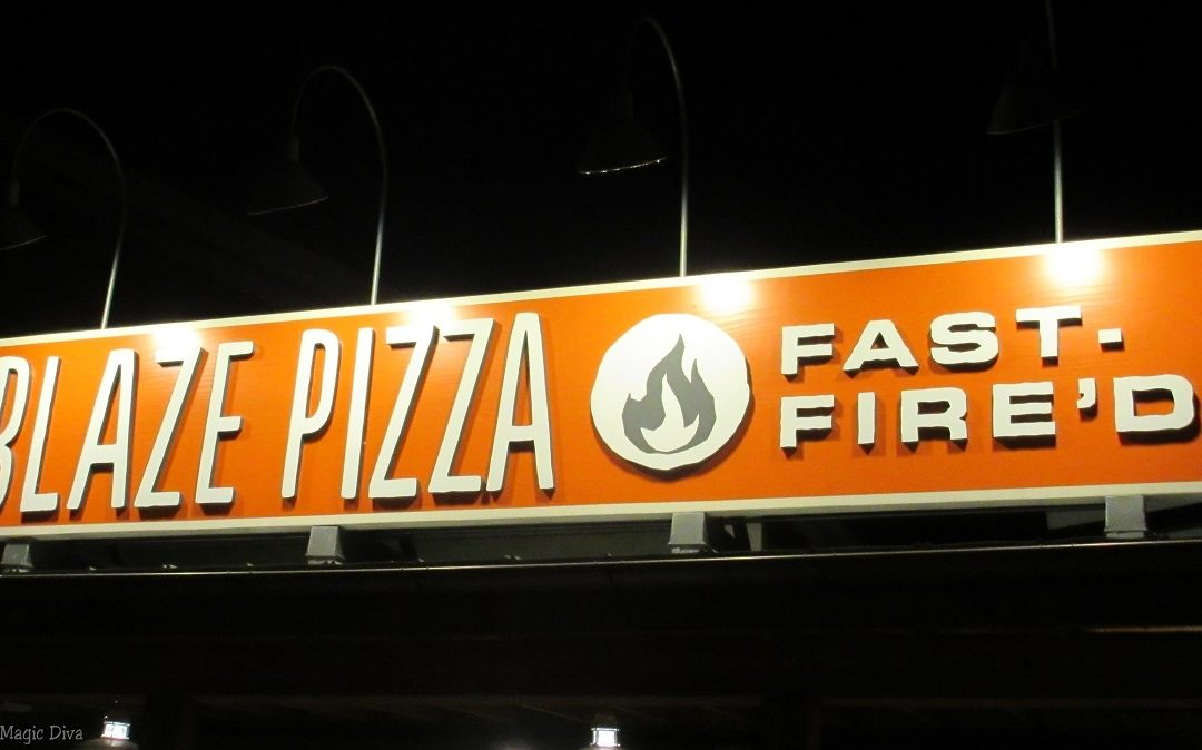 Why We Love Blaze Fast-Fire'd Pizza at Disney Springs