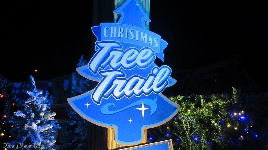 Throwback Thursday: Take a Magical Stroll Down the Christmas Tree Trail at Disney Springs