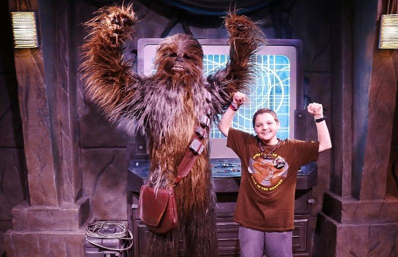 Chewie, Meet Chewie! Meeting Chewbacca at Walt Disney World