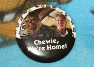 Chewie, we're home button