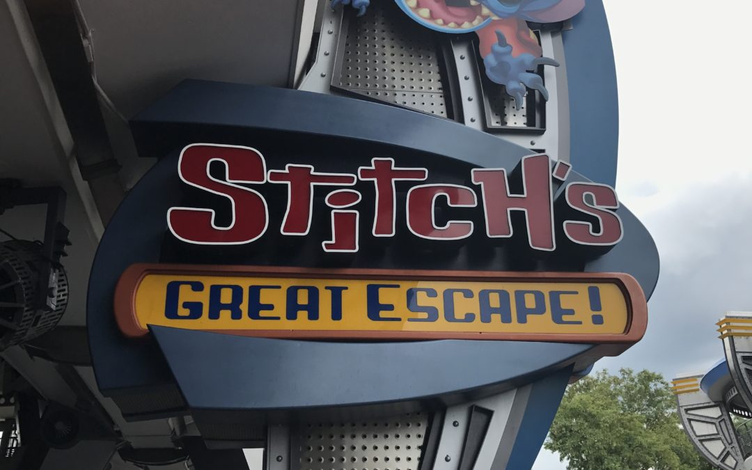 It's True, I Am a Fan of Stitch's Great Escape.