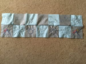A Unique Alternative to Disney Character Autograph Books- A DIY Disney Autograph Quilt! Perfect for Your Next Vacation.