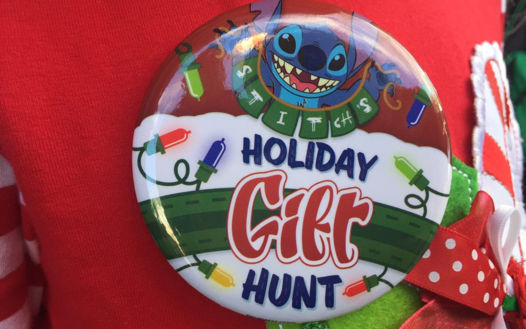 Throwback Thursday: Stitch's Holiday Gift Hunt