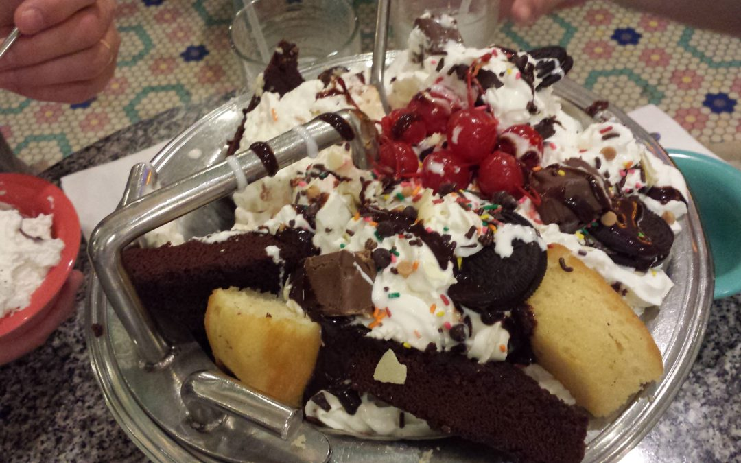 The Kitchen Sink at Disney's Beaches & Cream Soda Shop: Are You Up for the Challenge?