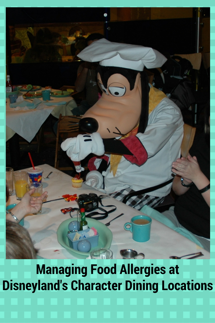 Managing Food Allergies at Disneyland\'s Character Dining Locations ...