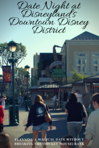 Strolling through Disneyland's Downtown Disney District