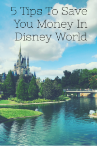 5 tips to save you money in Disney World