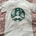 Ariel/Starbucks tshirt