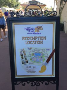 Figment's Brush with the Master's Scavenger Hunt