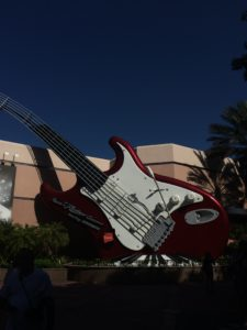 Rock n Roller Coaster Guitar at Disney's Hollywood Studios
