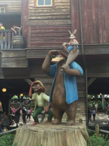 Splash Mountain statue at Magic Kingdom Park