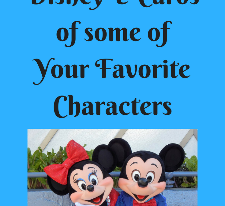 How to Receive Disney e-cards of Some of Your Favorite Characters
