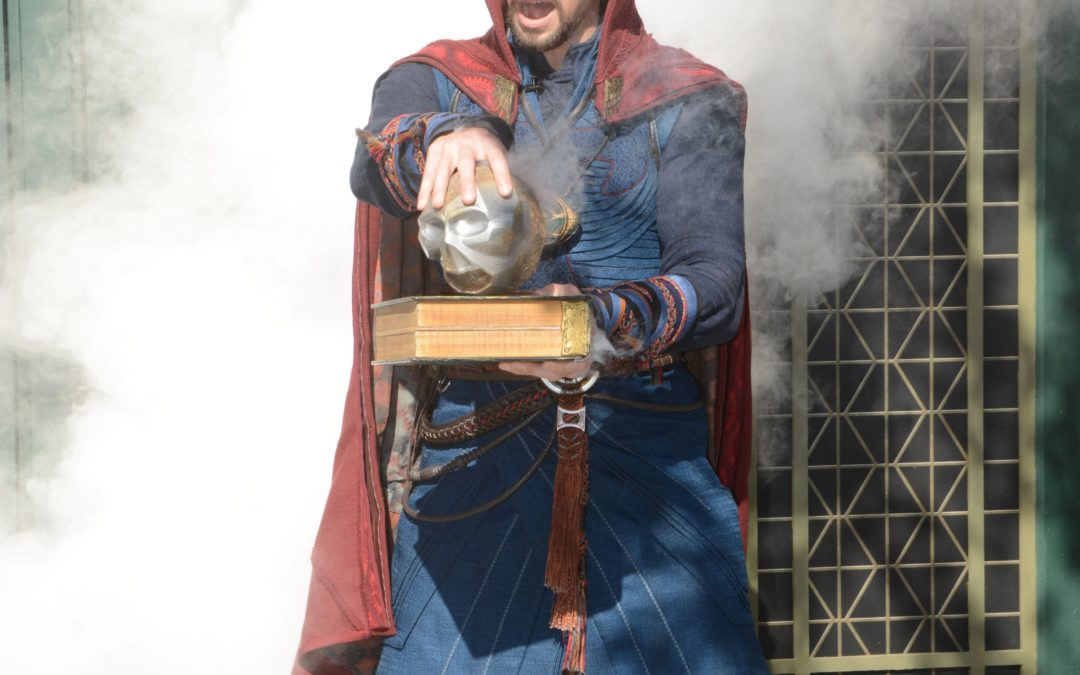 Meeting Dr. Strange at Disney's Hollywood Studios