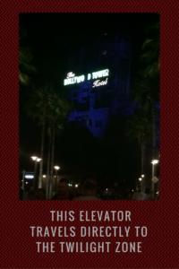 Tower of Terror night at Disney's Hollywood Studios