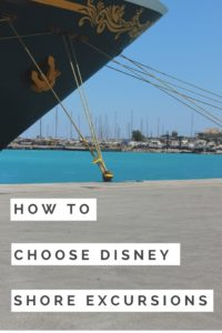 How to Choose Disney Shore Excursions for your next vacation! Disney Cruise Line, DCL, Port Adventures, Shore Excursions, what to do in port
