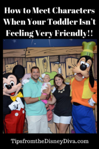 How to Meet Characters When Your Toddler Isn't Feeling Very Friendly!!