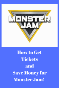 How to Get Tickets and Save Money for Monster Jam!