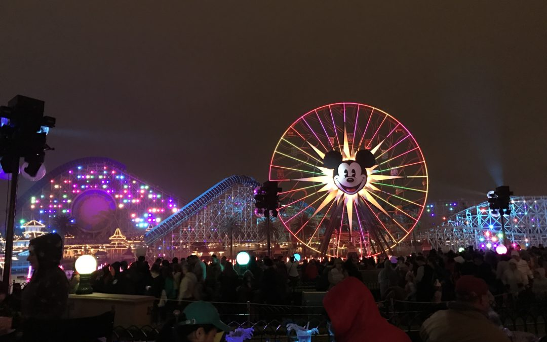 Review of Disneyland's World of Color Dessert Party