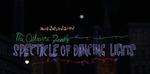 Hollywood Studios Osborne Family Spectacle of Dancing Lights
